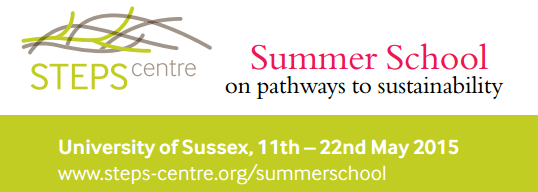 STEPS Centre Summer School
