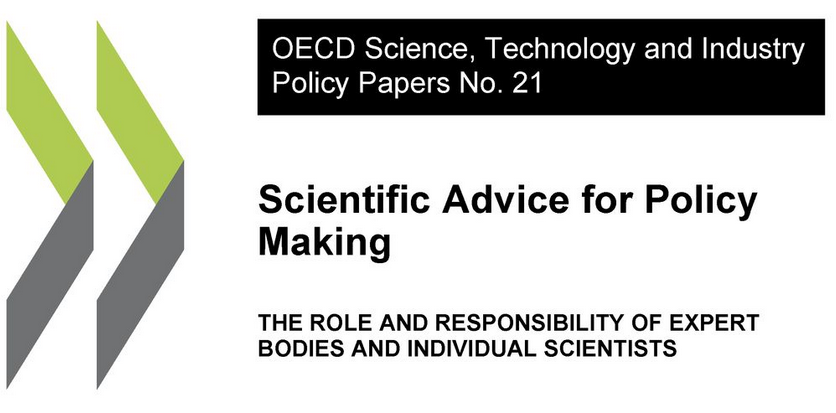 "Reporte de la OCDE: ""Scientific Advice for Policy Making"""
